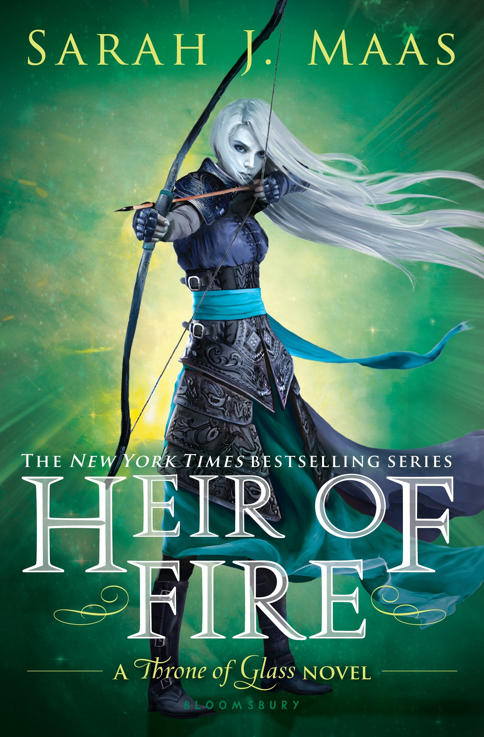 Image result for heir of fire sarah j maas cover