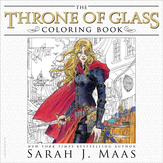 Throne of Glass Coloring Book | Sarah J. Maas